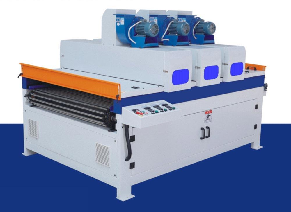 紫外光三灯UV固化机
