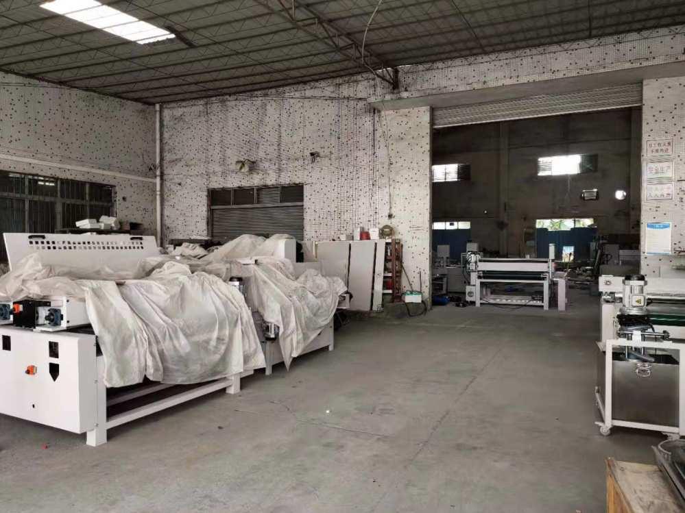 UV涂装设备生产车间