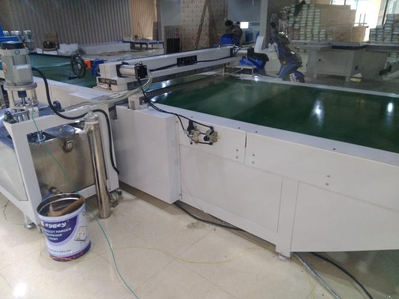 UV淋涂机生产车间