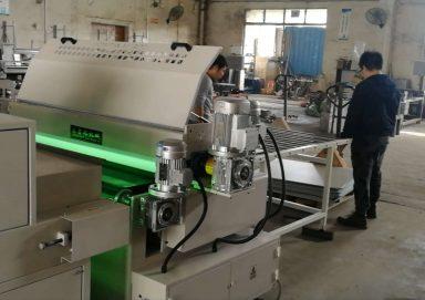 PVC石塑板底漆UV辊涂机生产线